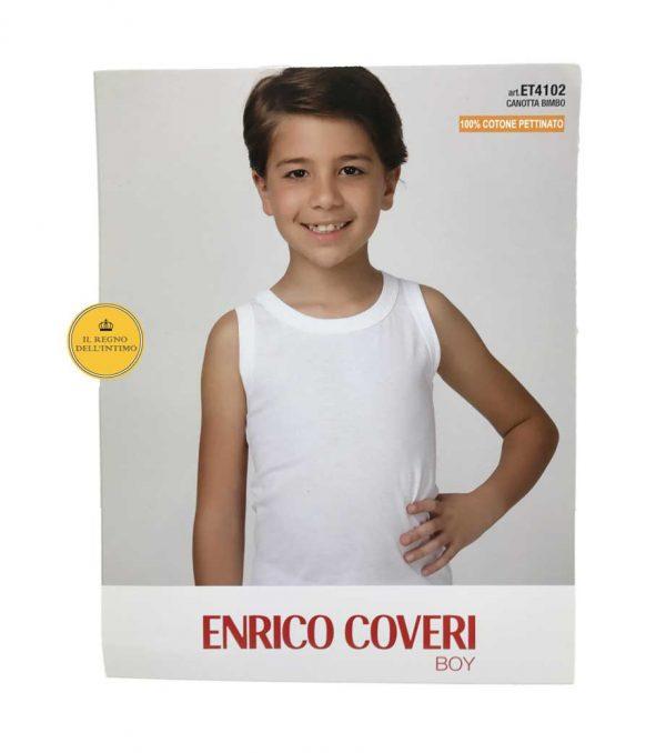 Canotta bambino Enrico Coveri ET4102