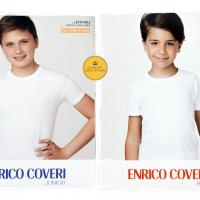 T-shirt Junior e Boy Enrico Coveri ET4100