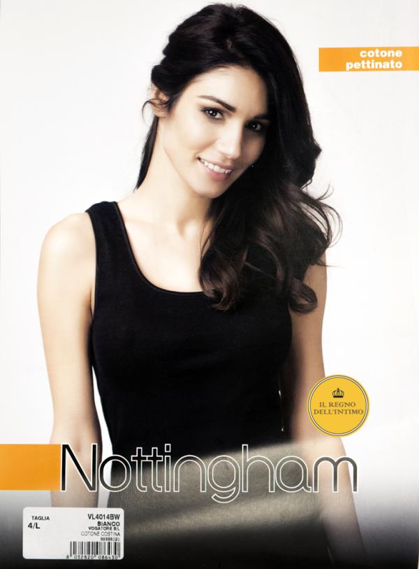 Canotta spalla larga donna Nottingham 4014
