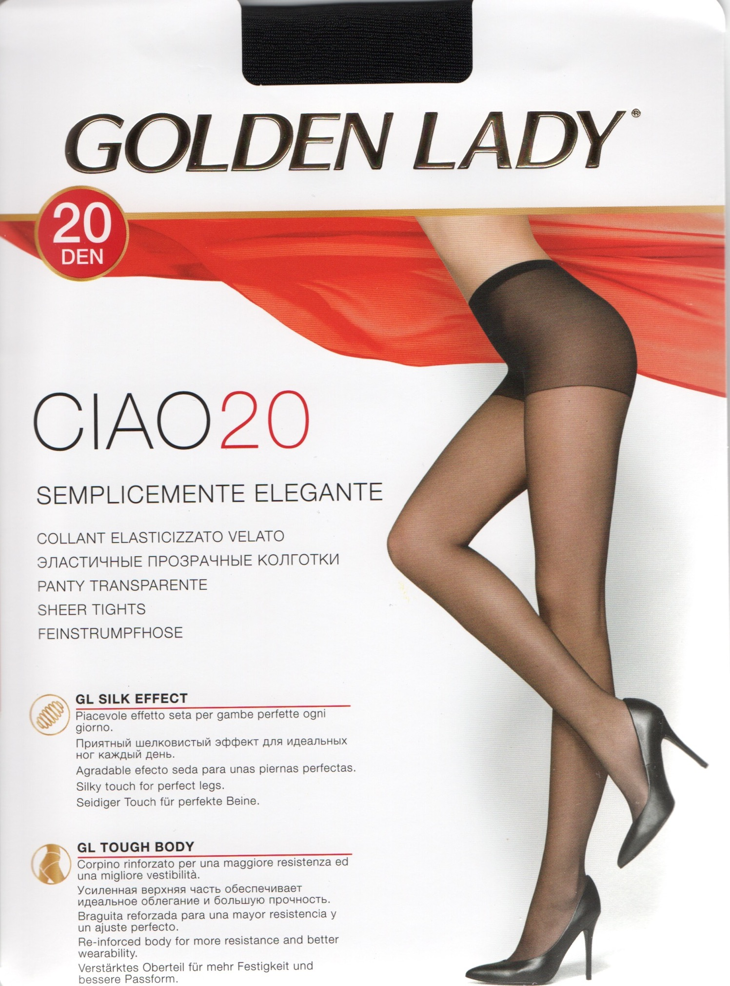 check out 644be 2fd14 Golden Lady Ciao 20 bi-pack(2)