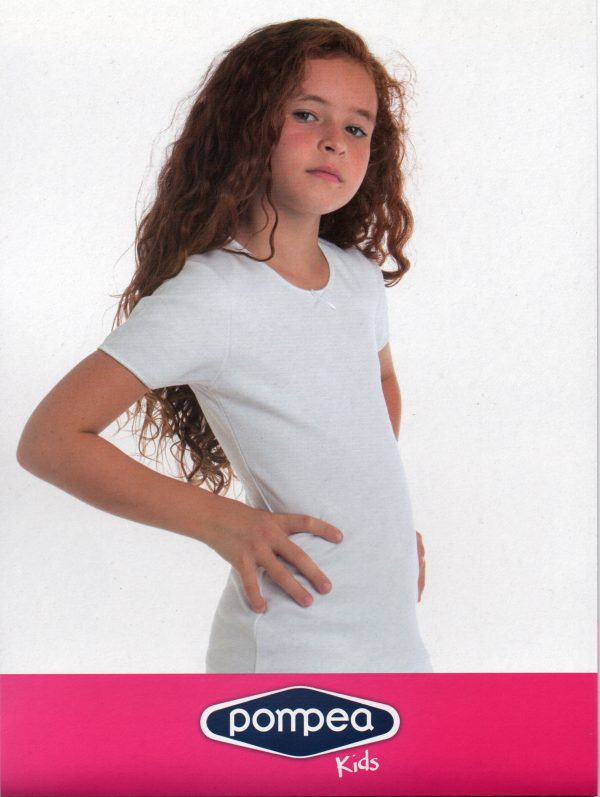 T-shirt bambina Pompea