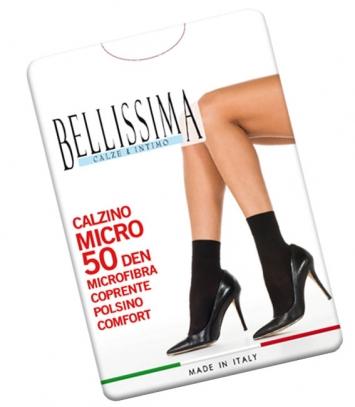 Calzino Microfibra 50 den donna Bellissima