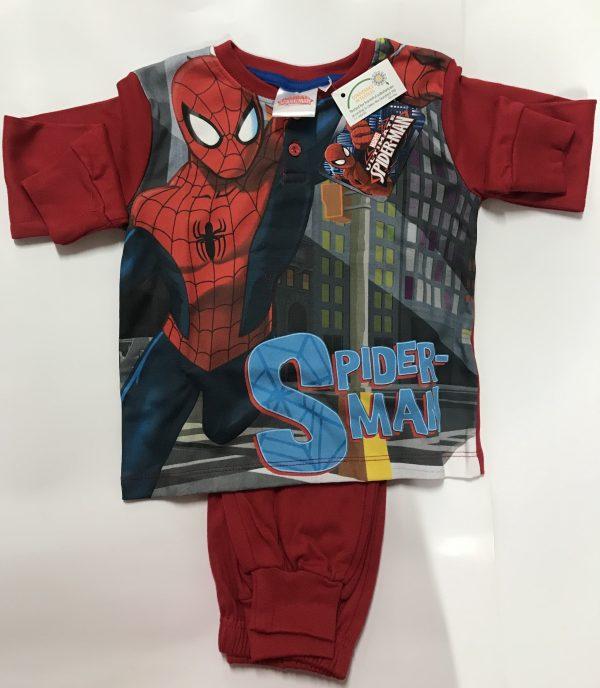 Pigiama bambino Spiderman