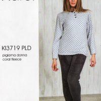 Pigiama donna Karel coral fleece